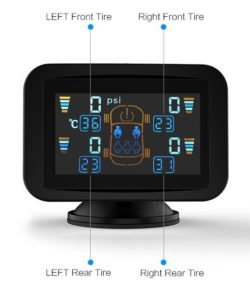 tire pressure monitor display