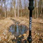 treking pole on trail