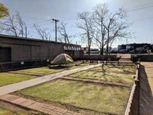 tent sites at RV park