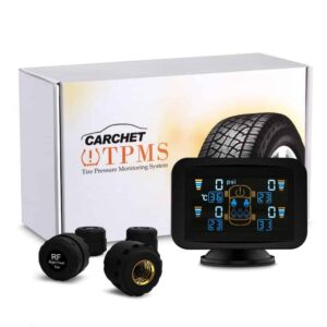 tire pressure monitoring system and box