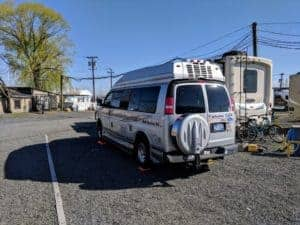 campervan in RV Park