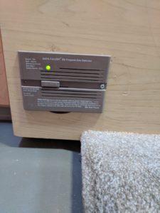 LP gas detector