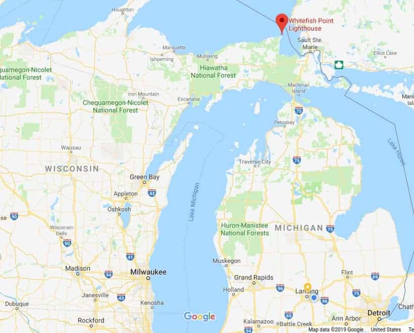 Google Map of Michigan