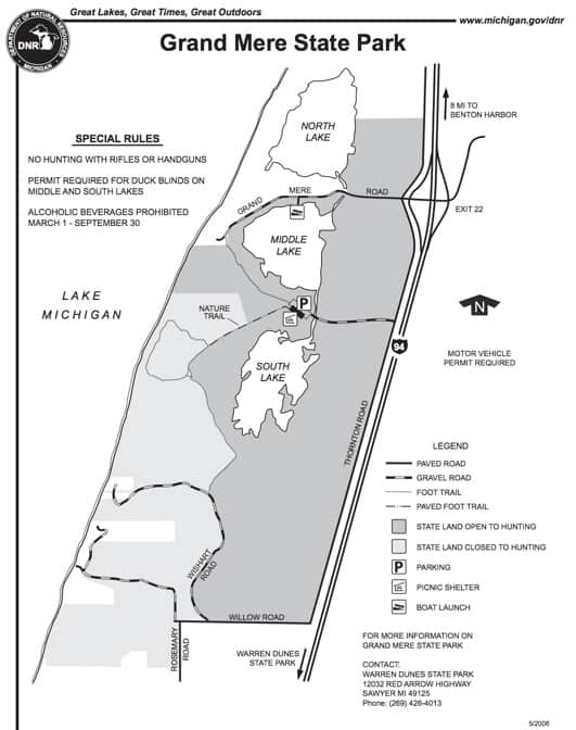 state park map