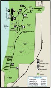 Petoskey State Park map