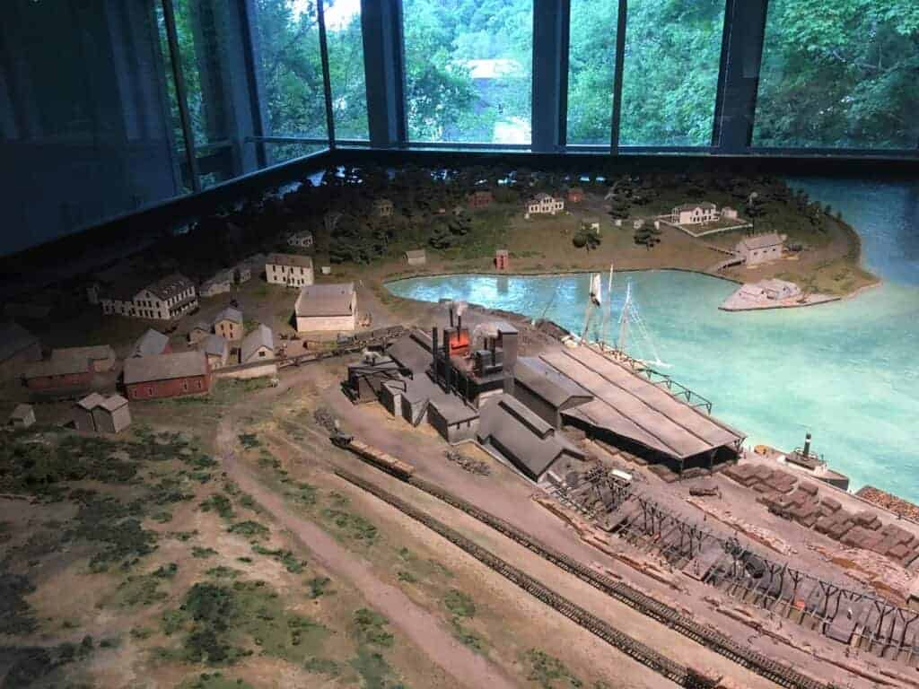 Fayette State Park diorama