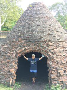 Old iron ore kiln