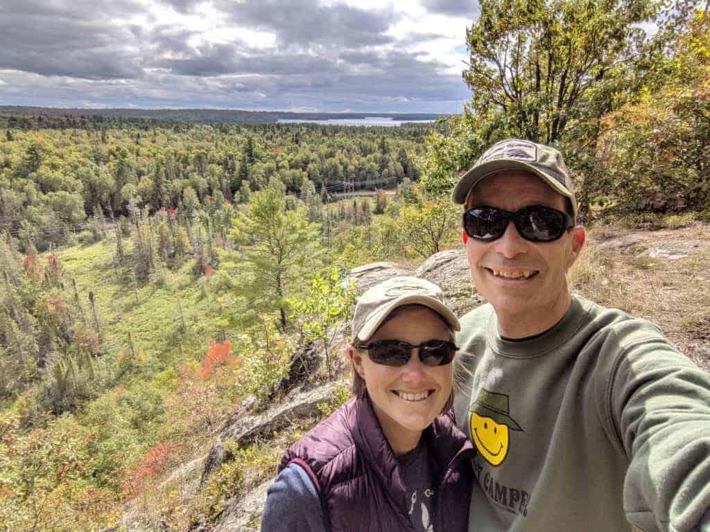 Overlook of Van Riper State Park