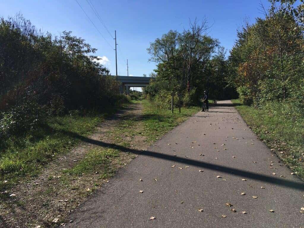 A bike trail