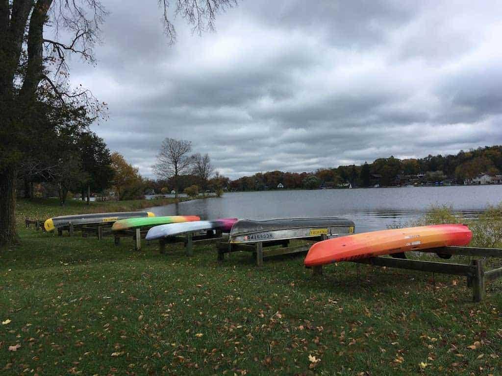 Silver Lake at Pinckney State Recreation Area